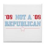 08 Anti-Republican Tile Drink Coaster