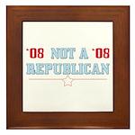 08 Anti-Republican Tile (Framed)