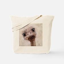 StephanieAM Ostrich Tote Bag