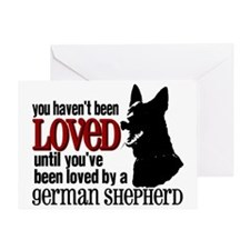 GSD Love Greeting Card