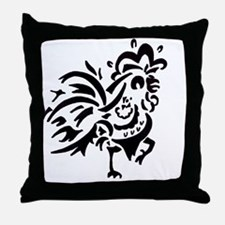 Southard Rooster Throw Pillow