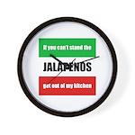 Jalapeno Lover Wall Clock