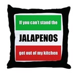 Jalapeno Lover Throw Pillow