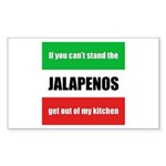 Jalapeno Lover Rectangle Sticker