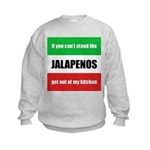 Jalapeno Lover Kids Sweatshirt