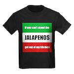 Jalapeno Lover Kids Dark T-Shirt