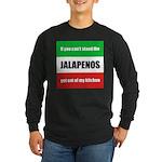 Jalapeno Lover Long Sleeve Dark T-Shirt