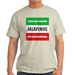 Jalapeno Lover Light T-Shirt