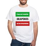 Jalapeno Lover White T-Shirt