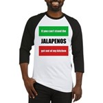 Jalapeno Lover Baseball Jersey