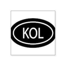 KOL Oval Sticker