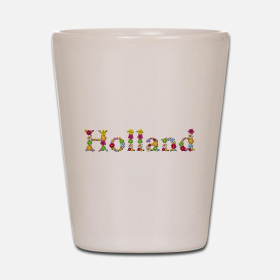 Holland Bright Flowers Shot Glass