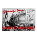 Vintage Vandelay Factory Postcards (Pkg of 8)