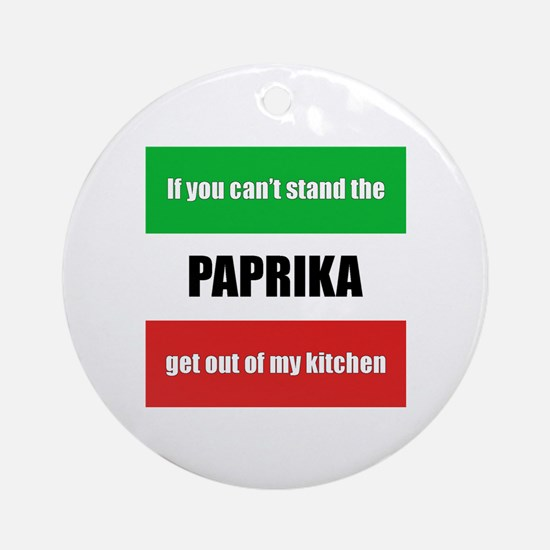 Paprika Lover Ornament (Round)