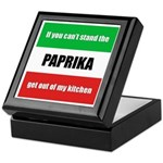 Paprika Lover Keepsake Box