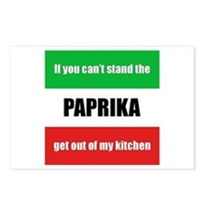Paprika Lover Postcards (Package of 8)
