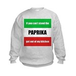Paprika Lover Kids Sweatshirt