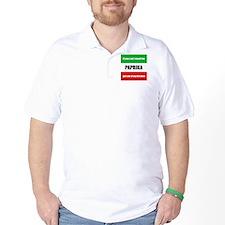 Paprika Lover Golf Shirt