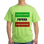 Paprika Lover Green T-Shirt