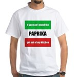 Paprika Lover White T-Shirt