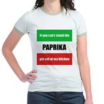 Paprika Lover Jr. Ringer T-Shirt