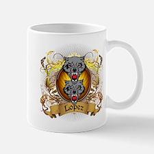 Lopez Family Crest Mug