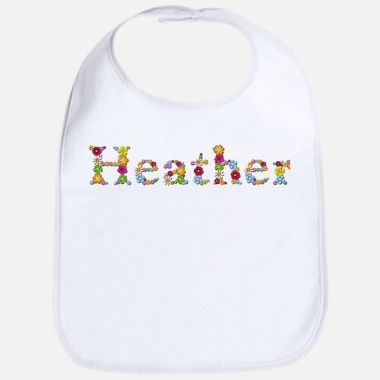 Heather Bright Flowers Bib