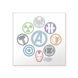 Marvel Stickers & Flair