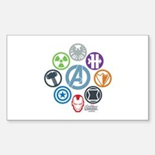 Avengers Icons Decal
