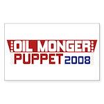 Oil Monger 2008 Rectangle Sticker