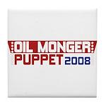 Oil Monger 2008 Tile Drink Coaster