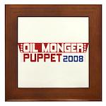 Oil Monger 2008 Tile (Framed)