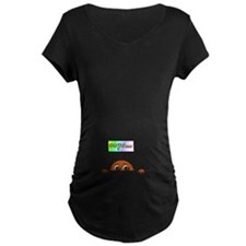 Oops...(Dark Skin) Maternity T-Shirt