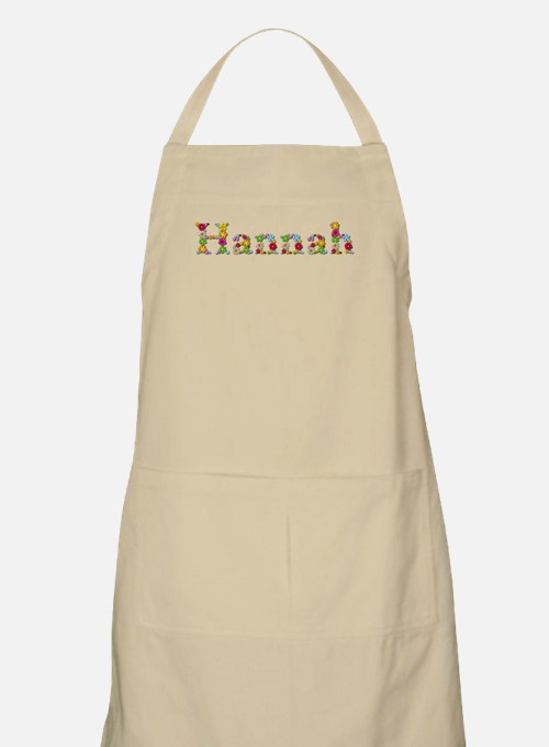 Hannah Bright Flowers Apron