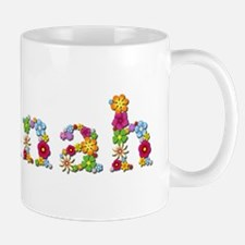 Hannah Bright Flowers Mugs