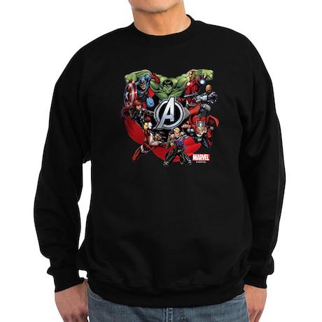 Avengers Group Sweatshirt (dark)