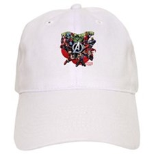 Avengers Group Baseball Cap