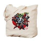 The avengers Regular Canvas Tote Bag