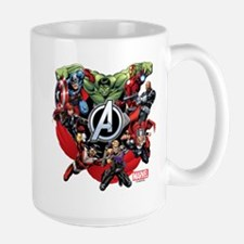 Avengers Group Large Mug