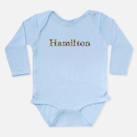 Hamilton Bright Flowers Body Suit