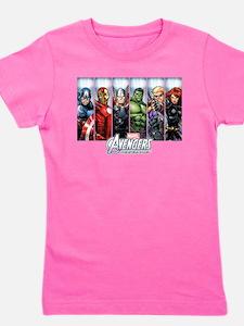 Avengers Assemble Girl's Tee