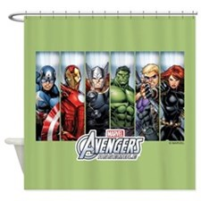 Avengers Assemble Shower Curtain