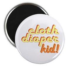 Cloth Diaper Kid Magnet