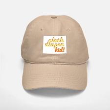 Cloth Diaper Kid Baseball Baseball Cap