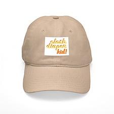 Cloth Diaper Kid Baseball Cap