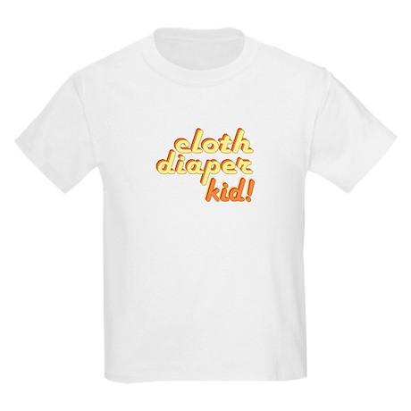 Cloth Diaper Kid Kids Light T-Shirt