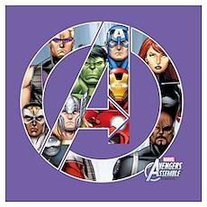 Avengers Assemble Wall Art Poster