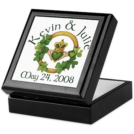Kevin & Julie Keepsake Box