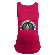 NSA Monitored Device Maternity Tank Top