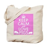 Pig Canvas Bags